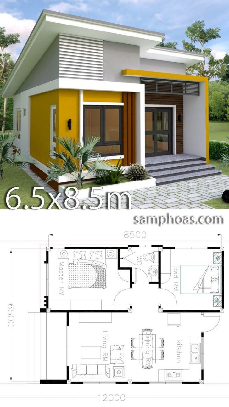 Floor Plans for Small Houses with 2 Bedrooms 2020