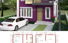Four Room House Design Fresh House Plans 6x10m With 4 Rooms
