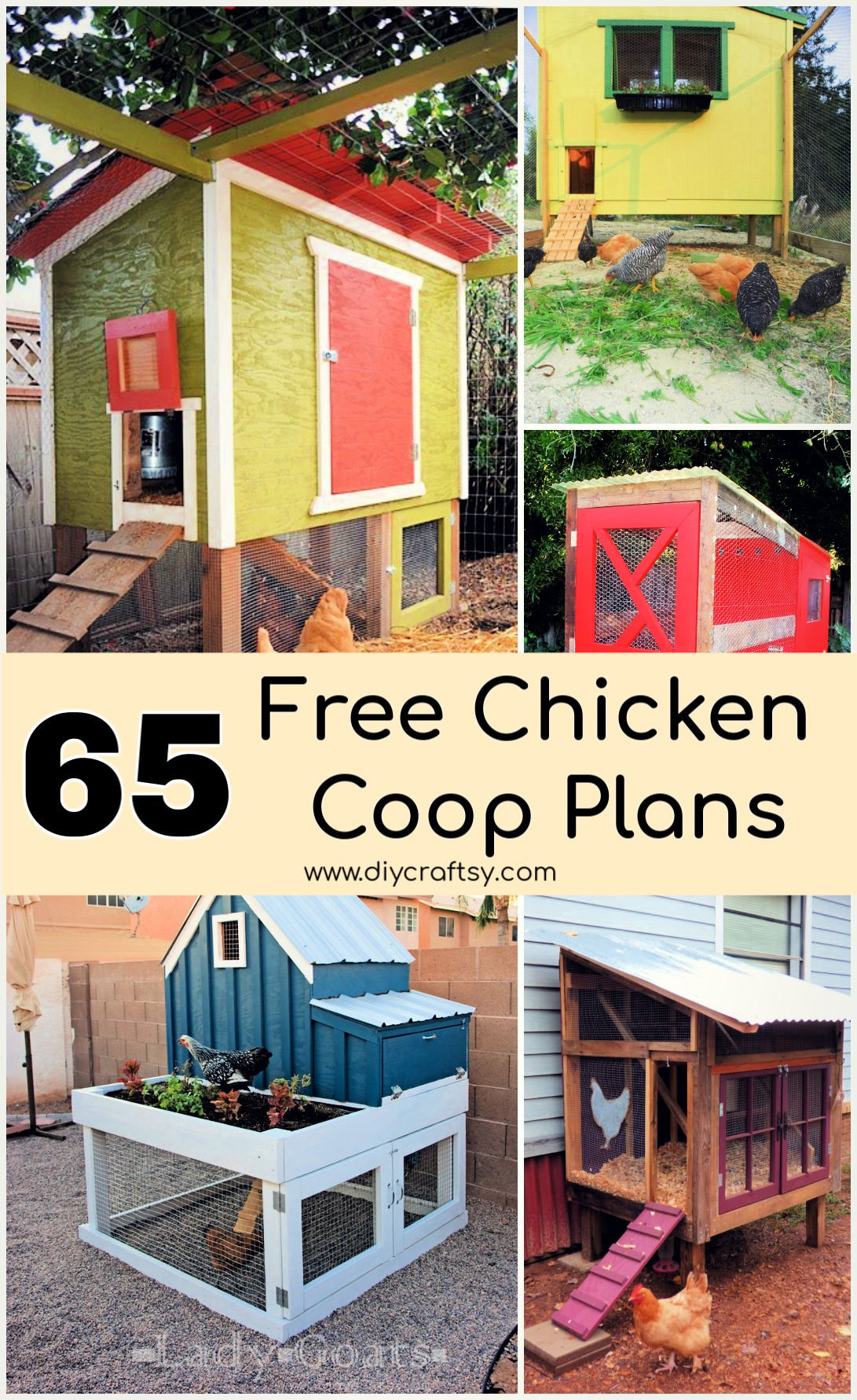 37 DIY Chicken Coop Plans That Are Bud Friendly DIY Projects