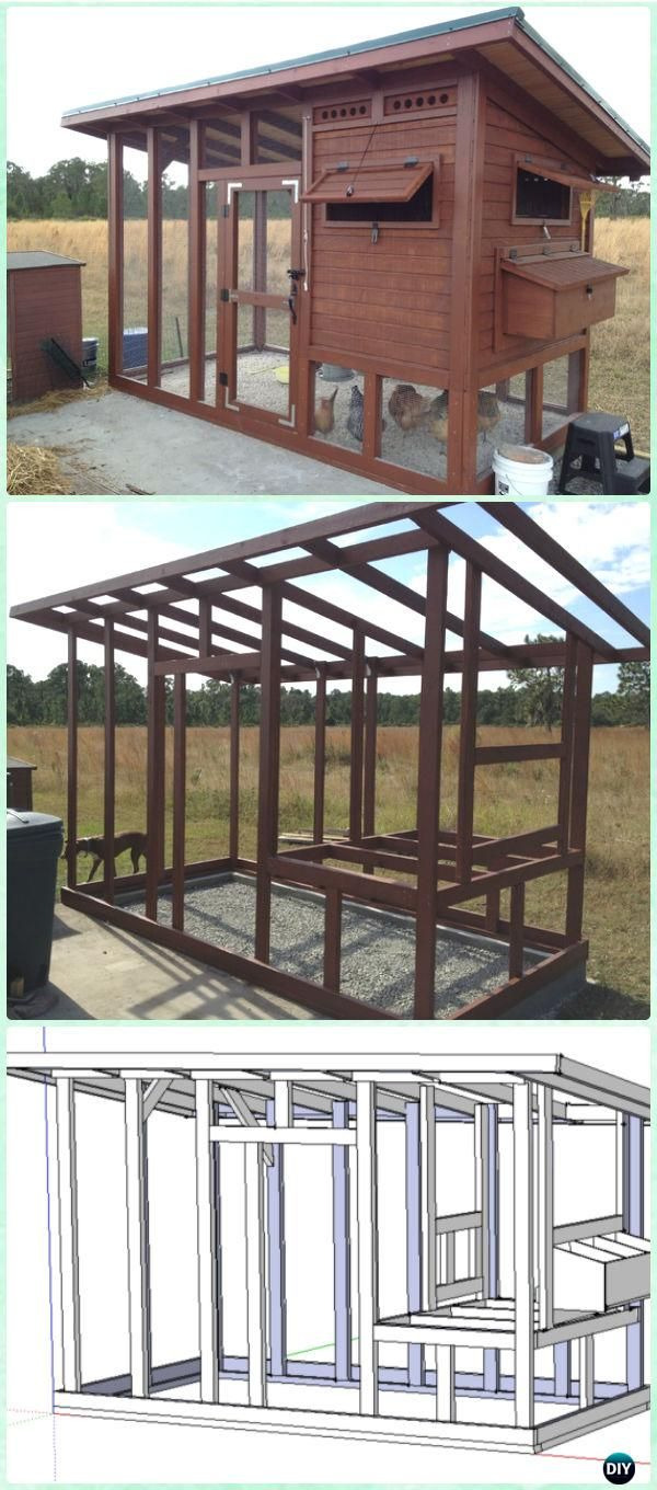 Free Chicken House Plans Inspirational Diy Wood Chicken Coop Free Plans Hühnerstall