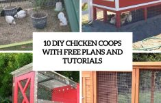 Free Chicken House Plans Lovely 10 Diy Chicken Coops With Free Plans And Tutorials Shelterness
