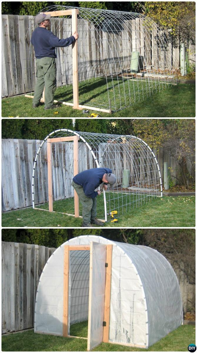 Free Green House Plans Beautiful Diy Wire Cattle Panel Greenhouse Free Plan 18 Diy Green