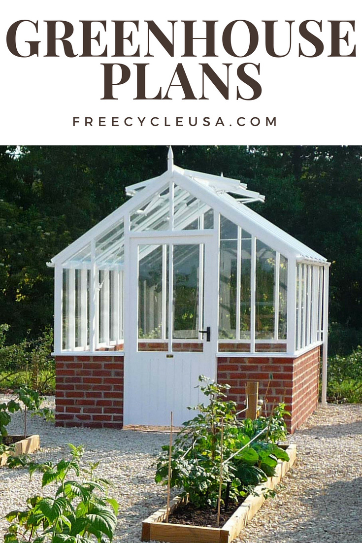 Free Green House Plans Elegant Cheap & Easy Greenhouse Plans for the Diyer Freecycle Usa