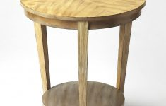 Furniture Gallery Butler Lovely Round Accent Table