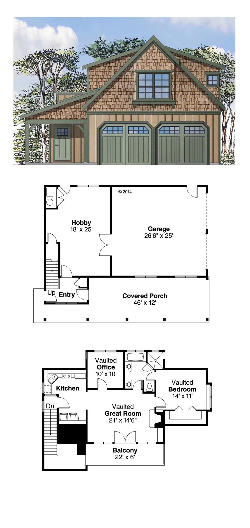 Garage with Guest House Plans Elegant European Style 2 Car Garage Apartment Plan Number with