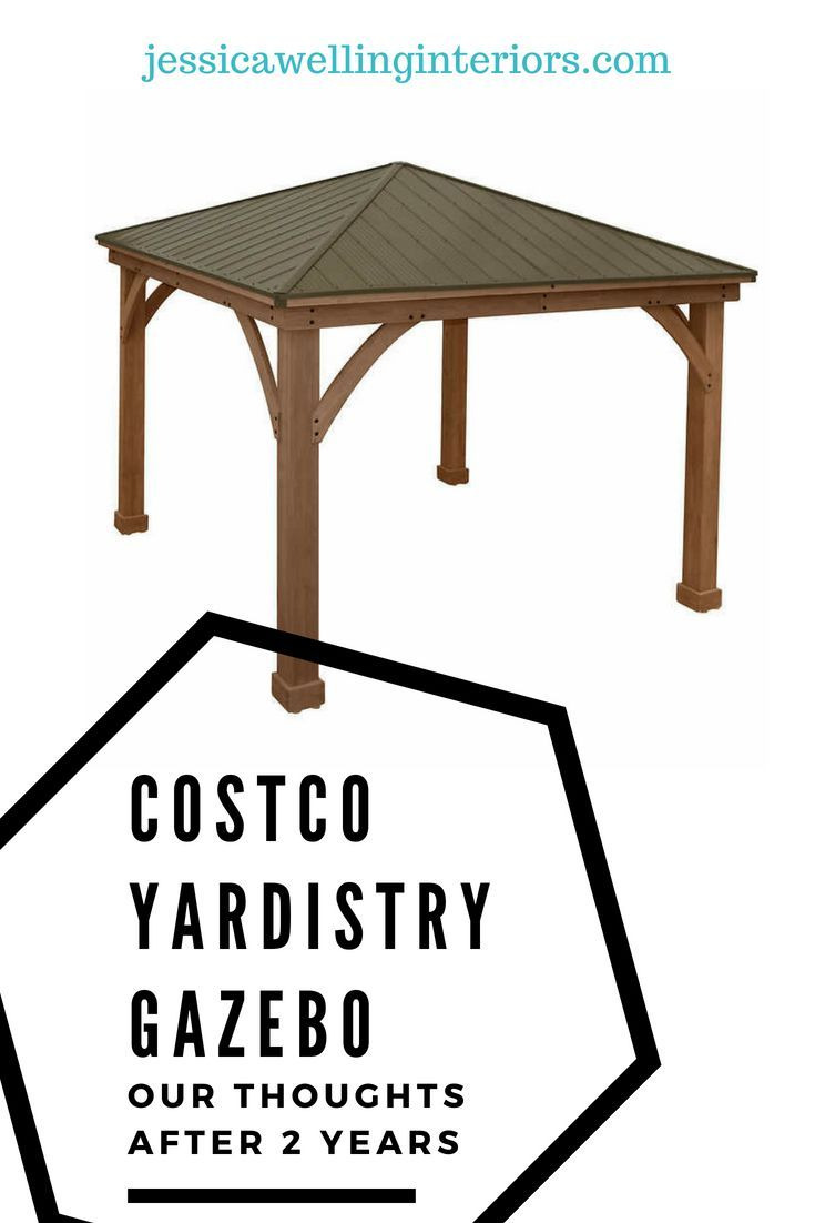 Gazebo Kits Costco Lovely Costco Gazebo Review Our Experience after 4 Years