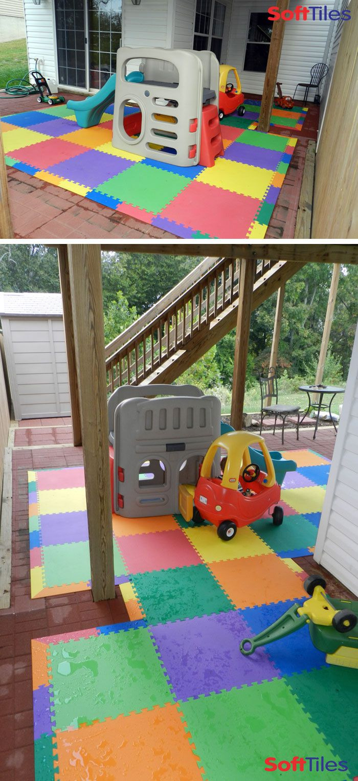 Giant Foam Floor Mats Awesome Outdoor Patio Cushioned Children S Play Mat Using softtiles