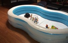 Hard Plastic Swimming Pool With Slide Lovely Inflatable Swimming Pool As Playpen For Crawling Babies