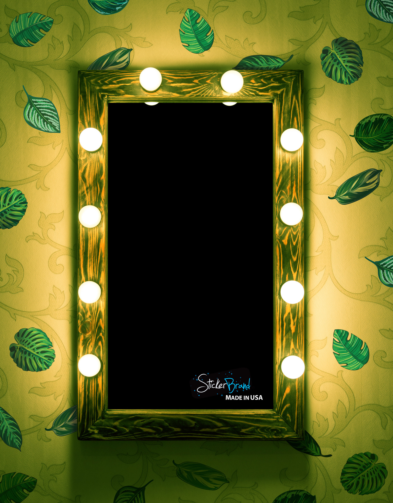 6094 jungle room leaves decal pict4 wm