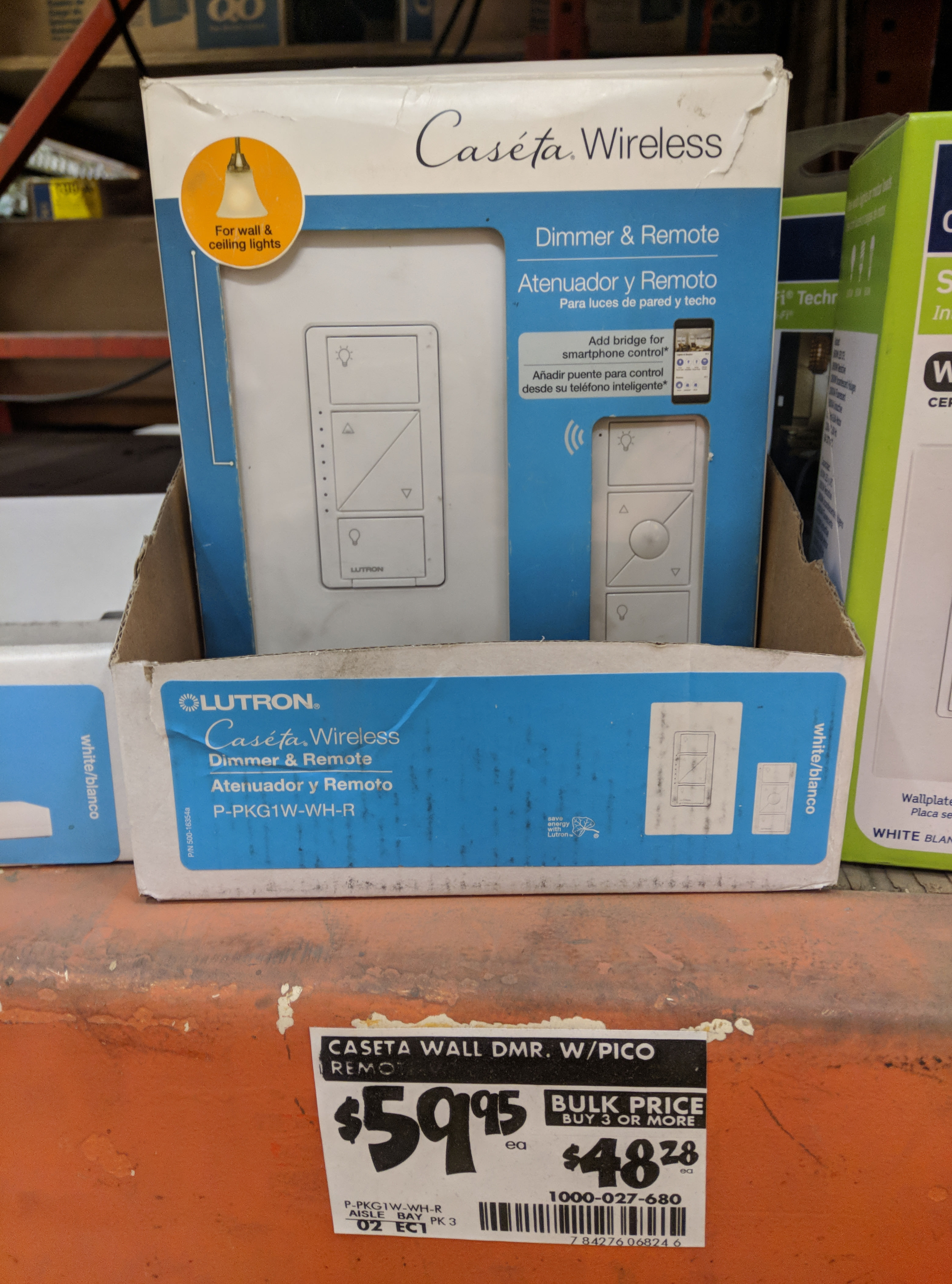 high ymmv home depot in store only lutron caseta wireless smart lighting dimmer switch and remote kit for 31 01 48 off