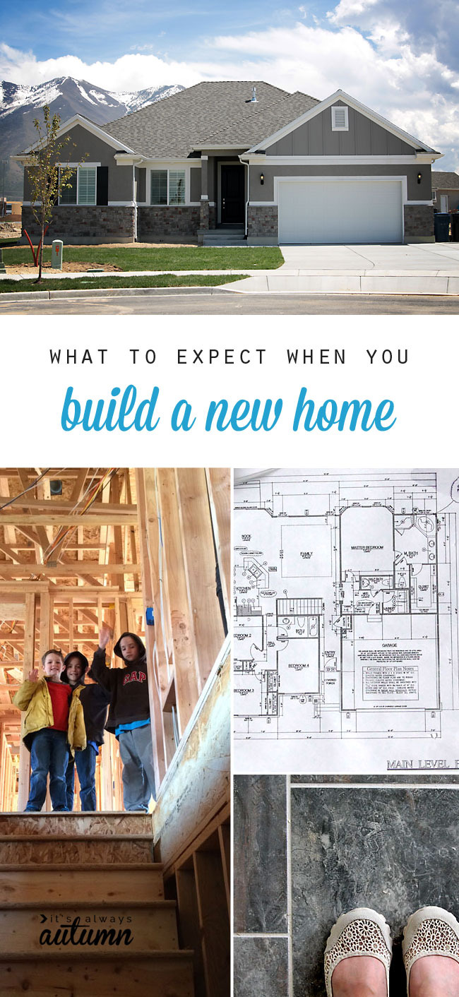 what to expect building a new home ivory homes review pinnable