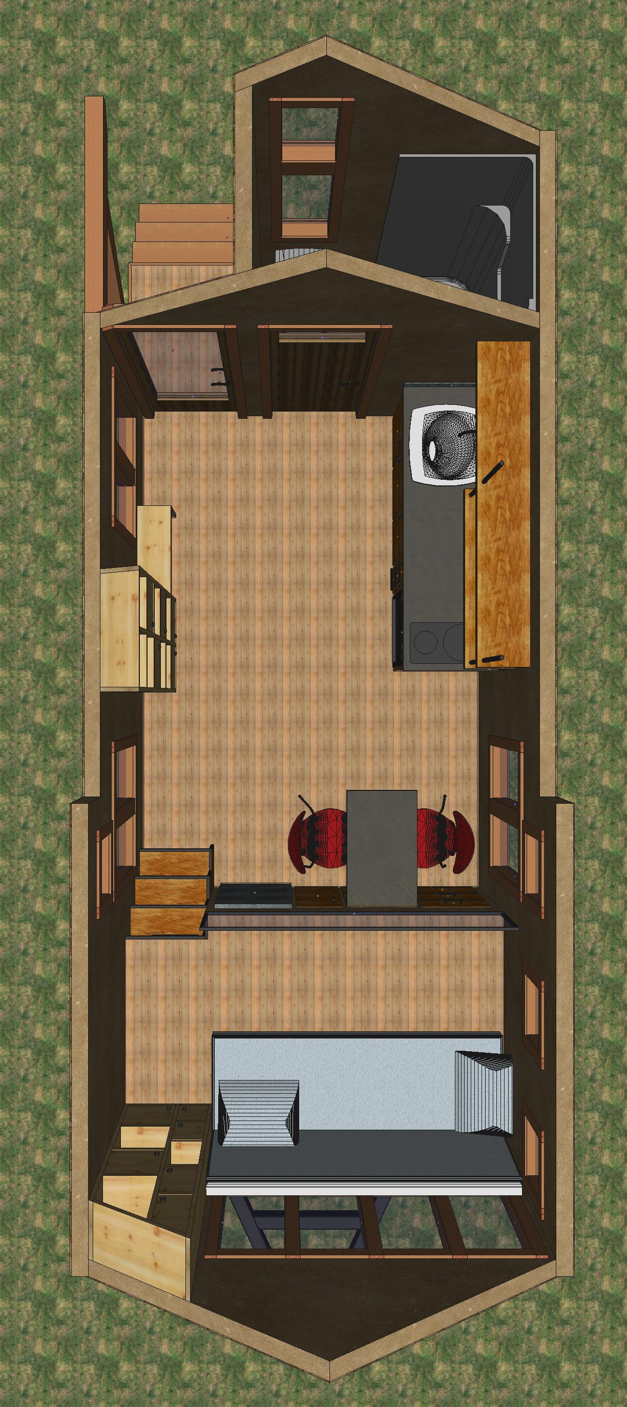 Homes with A View House Plans Awesome Plan Birds Eye View Tiny House Blog