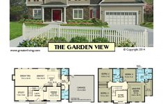 Homes With A View House Plans Beautiful Plan 2549 The Garden View
