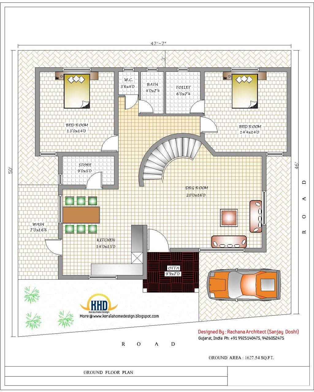 House Designs and Floor Plans In India Awesome India Home Design with House Plans 3200 Sq Ft