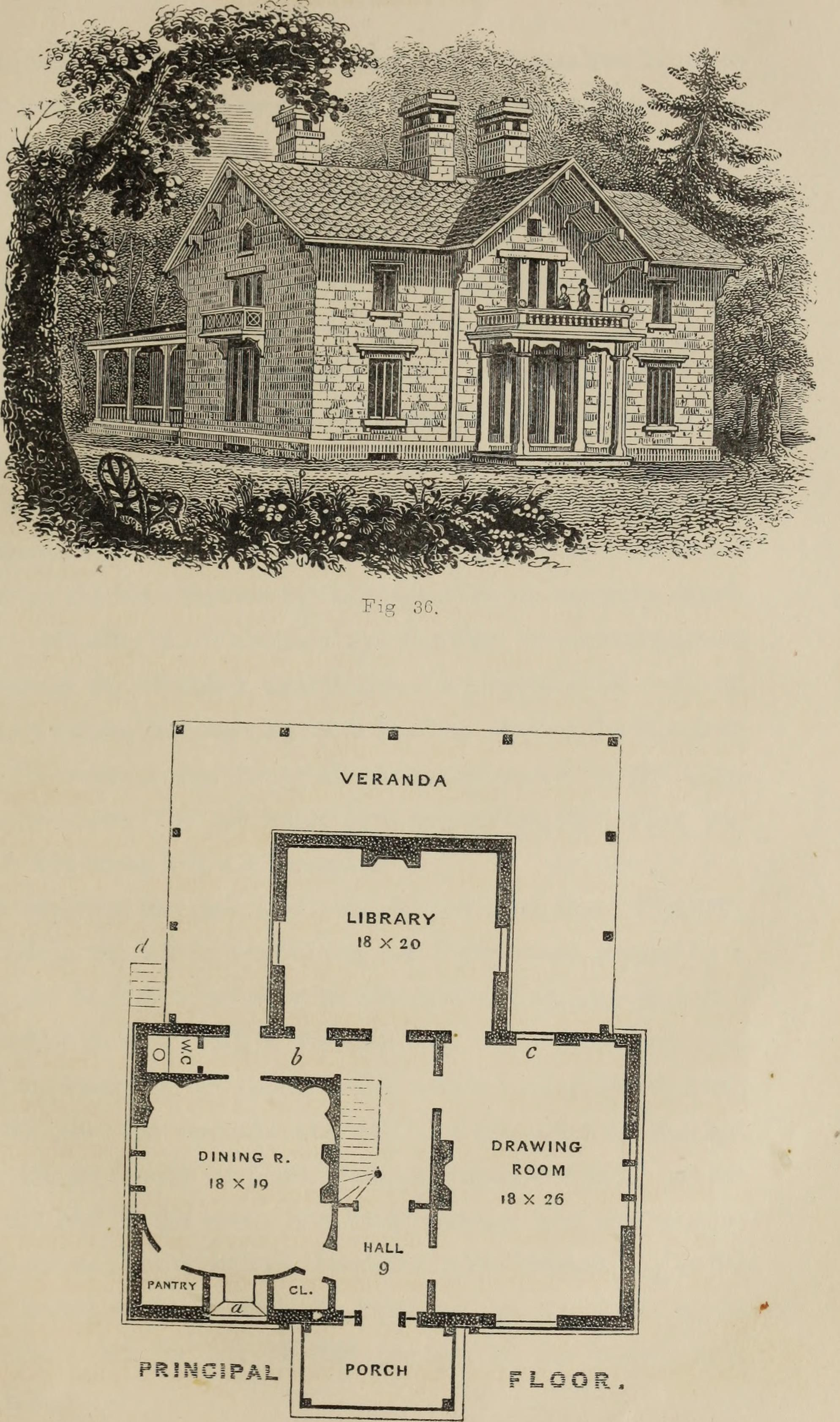 House Plan Books Online Unique File Cottage Residences or A Series Of Designs for Rural