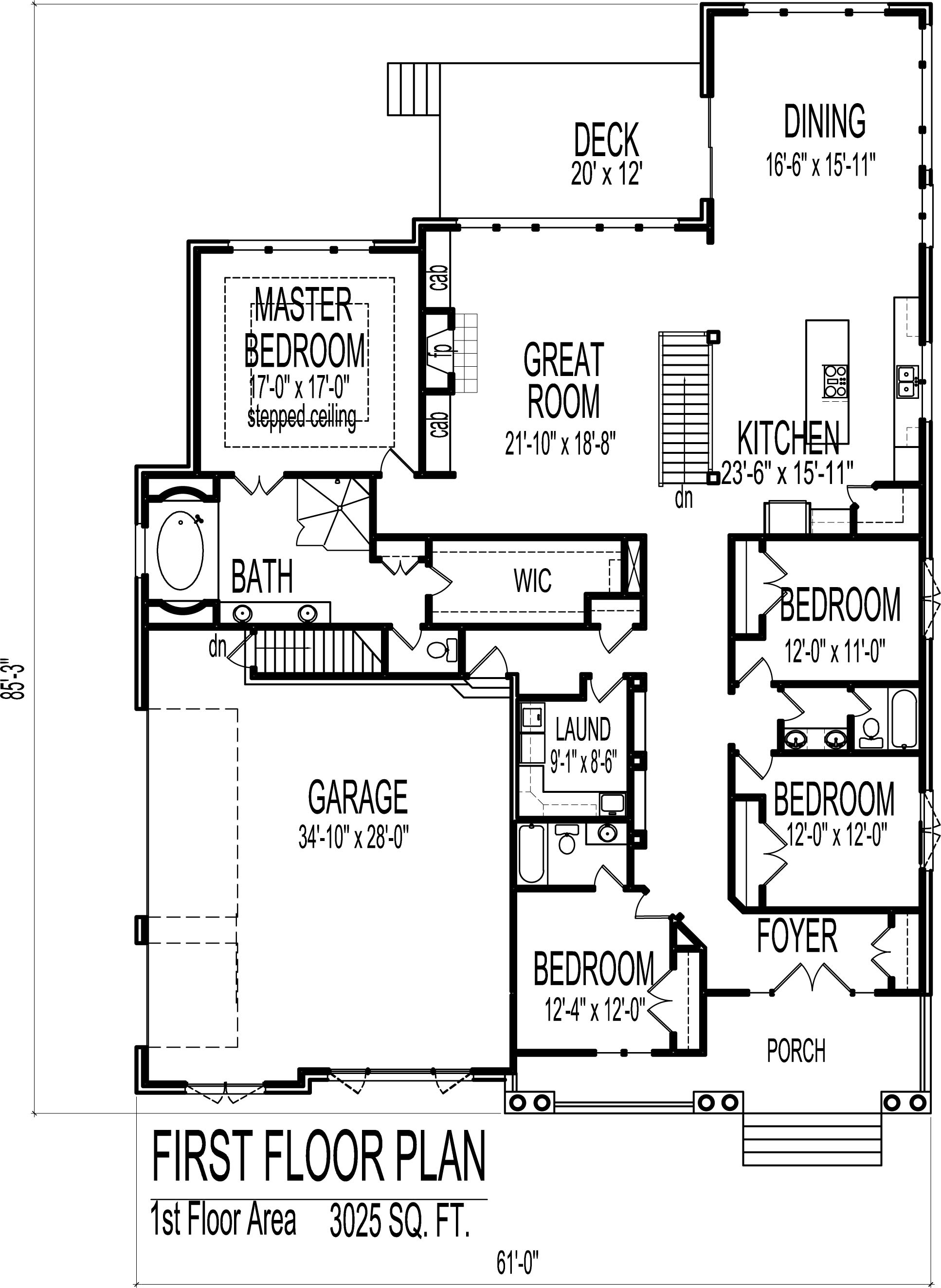 House Plans 2500 Sq Ft One Story Best Of English Cottage House Floor Plans European 4 Bedroom 1 Story