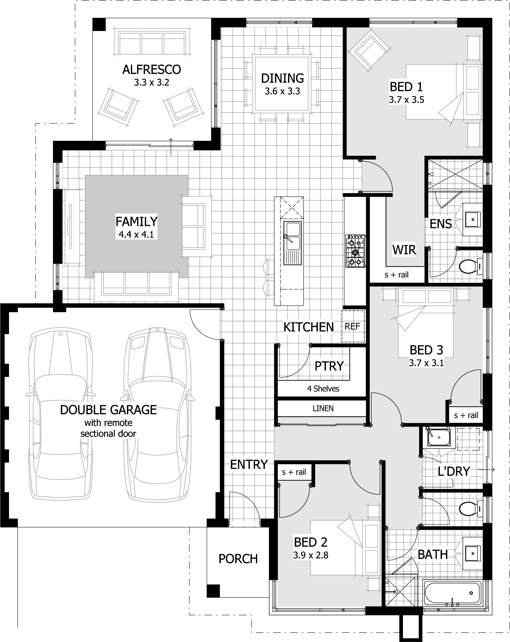 House Plans 3 Bedroom and Double Garage Fresh Bedroom House Plans Zimbabwe Home Ideas south Africa Ghana