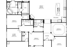 House Plans For Elderly Unique One Story Floor Plan Great Layout Love The Flow