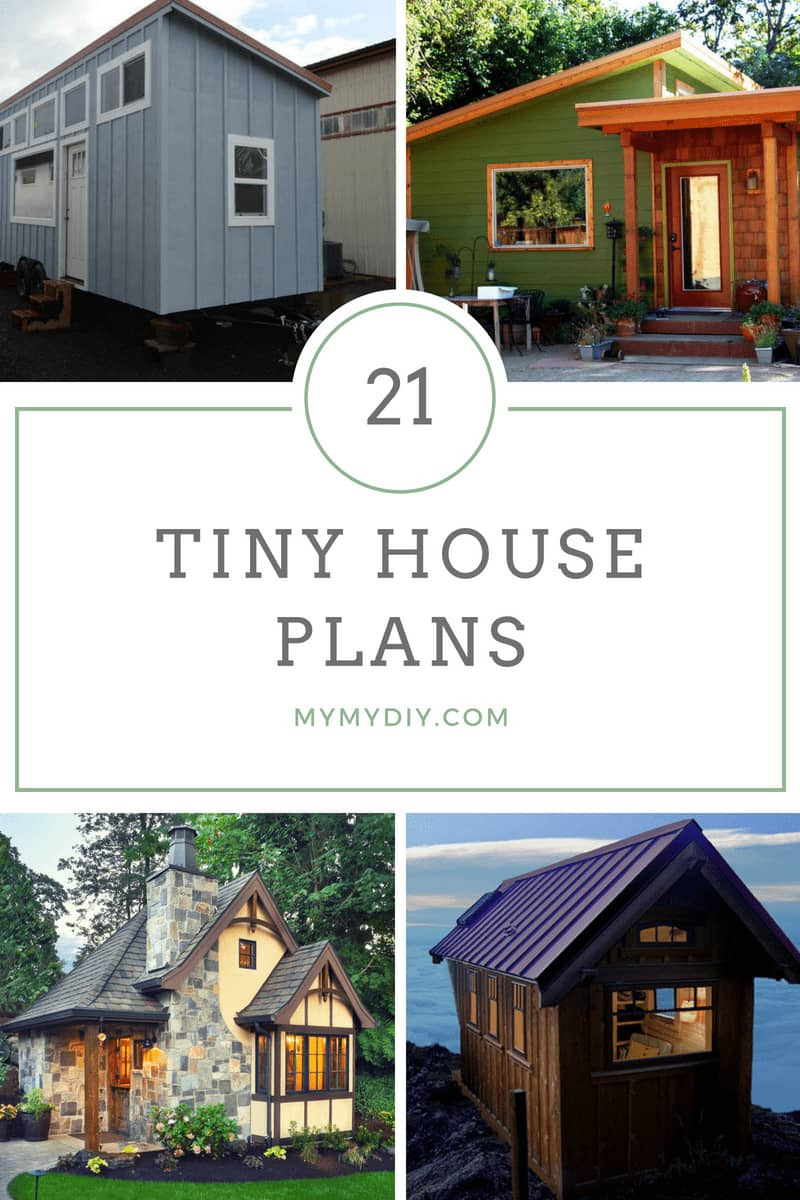 House Plans Inside and Outside Awesome 21 Diy Tiny House Plans [blueprints] Mymydiy