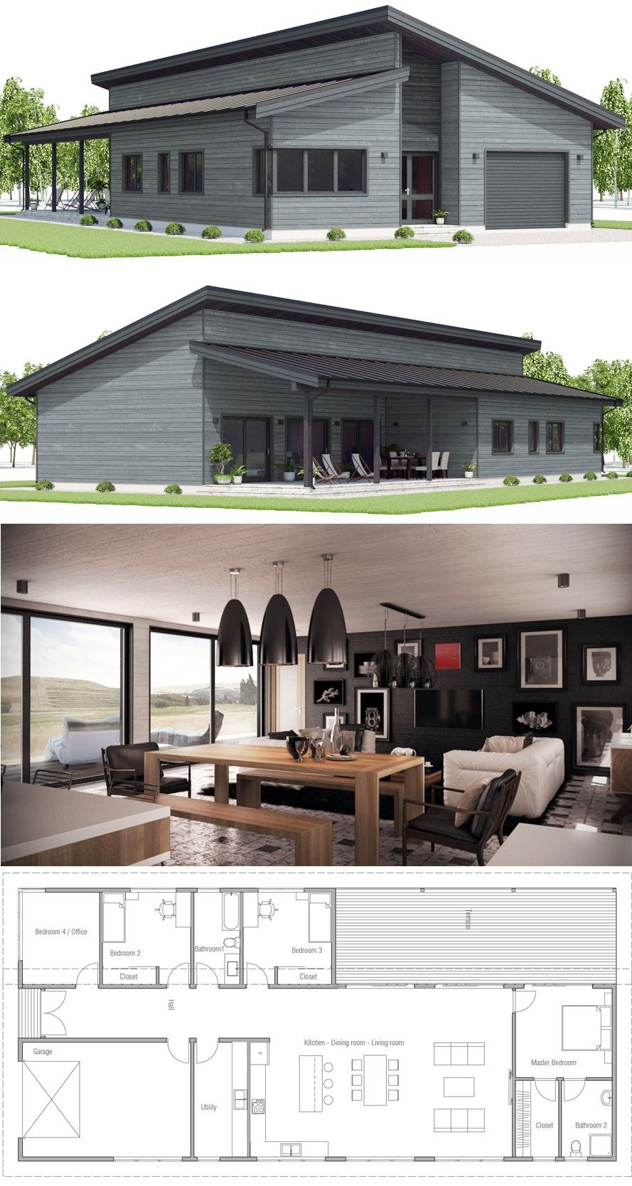 House Plans Metal Buildings Elegant House Plan Home Plans Modern House with Three Bedrooms