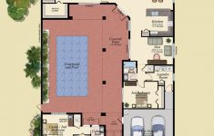 House Plans With A Pool Luxury Golf Course House Plans Pool Floorplan