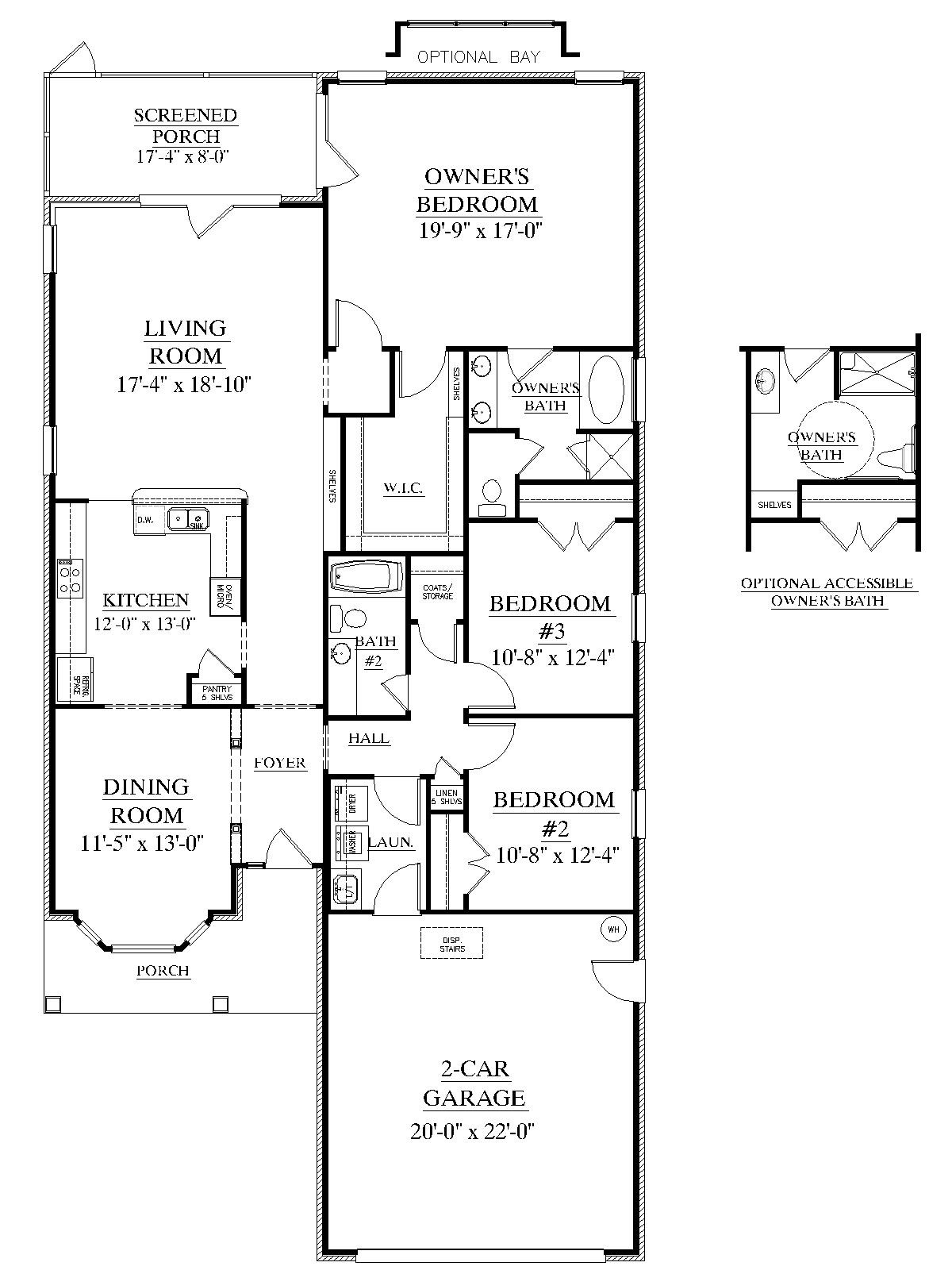 House Plan 1912 A The BROOKDALE A