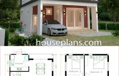 House Plans With Flat Roof New House Plans 6 6x9 With 3 Bedrooms Flat Roof House Plans