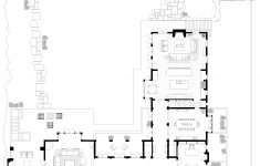 House Plans With Large Living Rooms Awesome First Floor Plan Living Room Entry Hall Library Dining