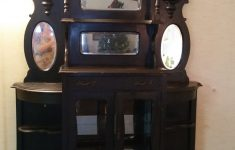 How Much Is My Antique Furniture Worth Awesome 1800s Victorian Tall Two Part Hutch Display How Much Is It