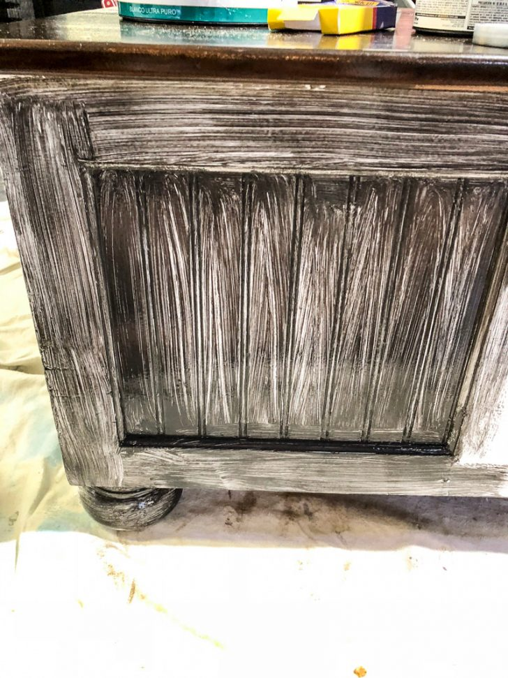 How to Antique Furniture with Glaze 2021