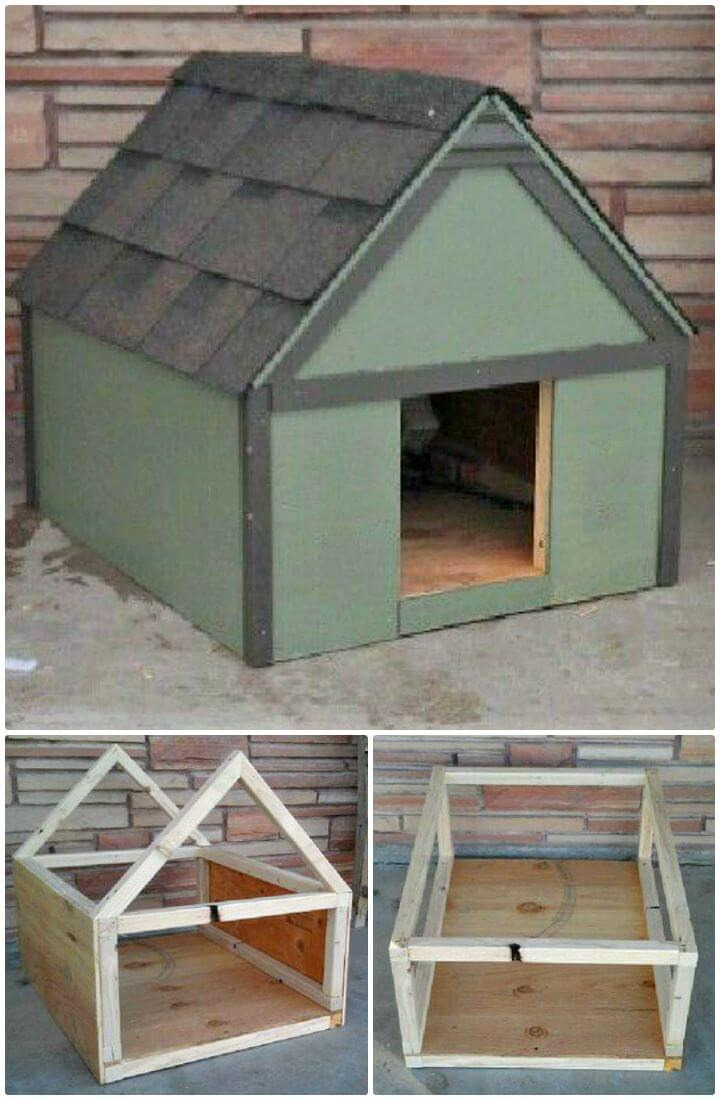 How To Build Your Own Dog House Tutorial