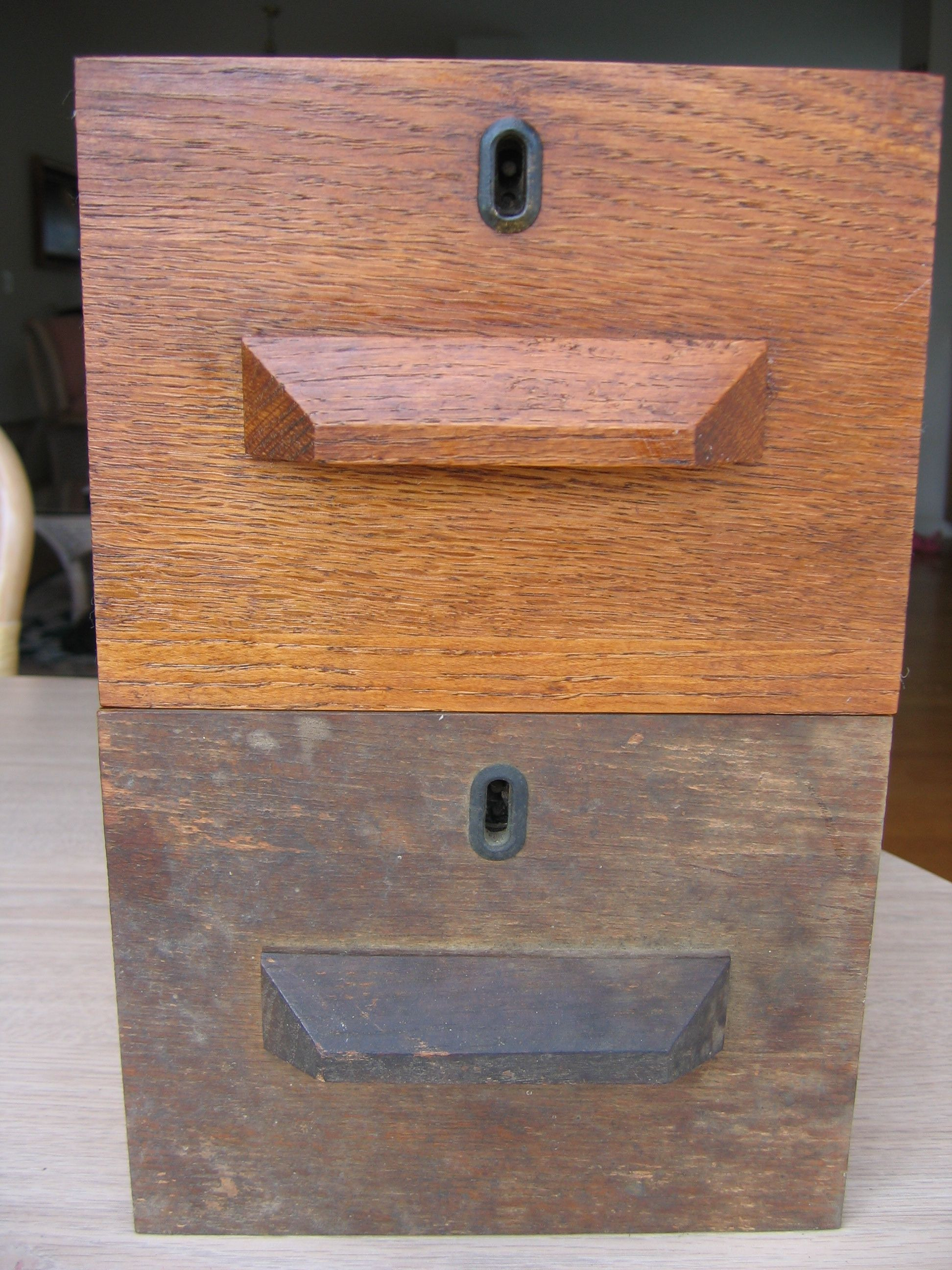 How to Clean Antique Wood Furniture New before and after Antique Desk Drawer Clean with touch Of