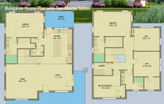 How To Draw My Own House Plans Luxury Plan Ph Bungalow House Plan With Two Master Suites