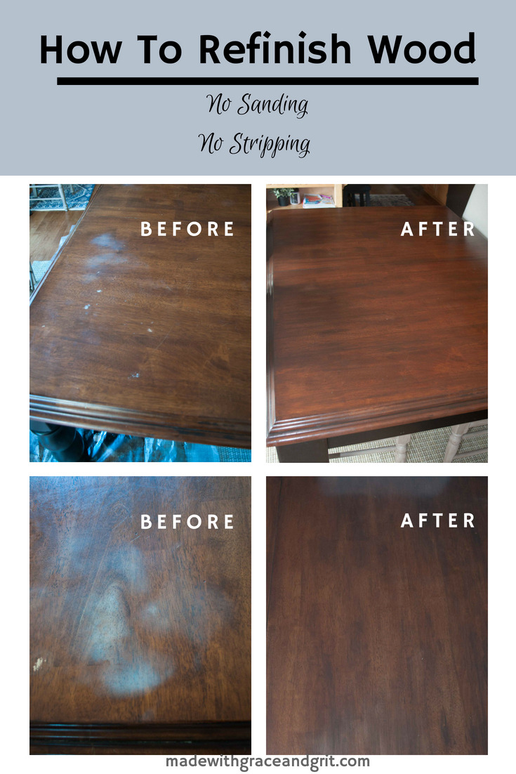 Refinished table pin 2