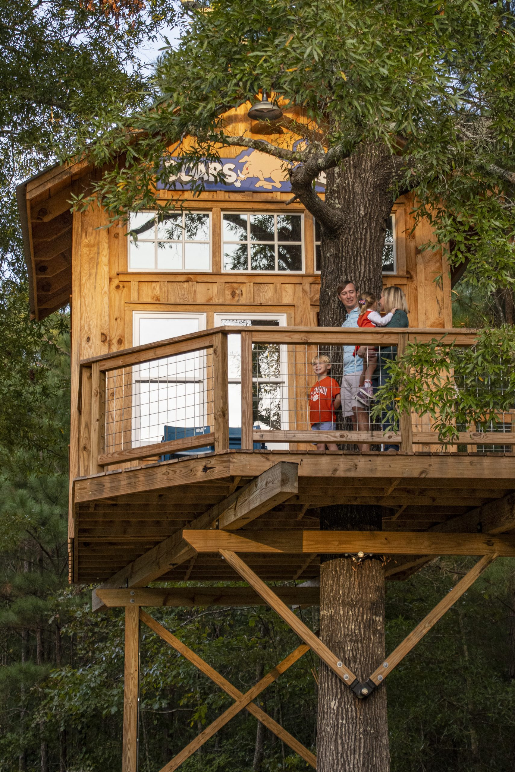 Hunting Tree House Plans Best Of Going Out On A Limb