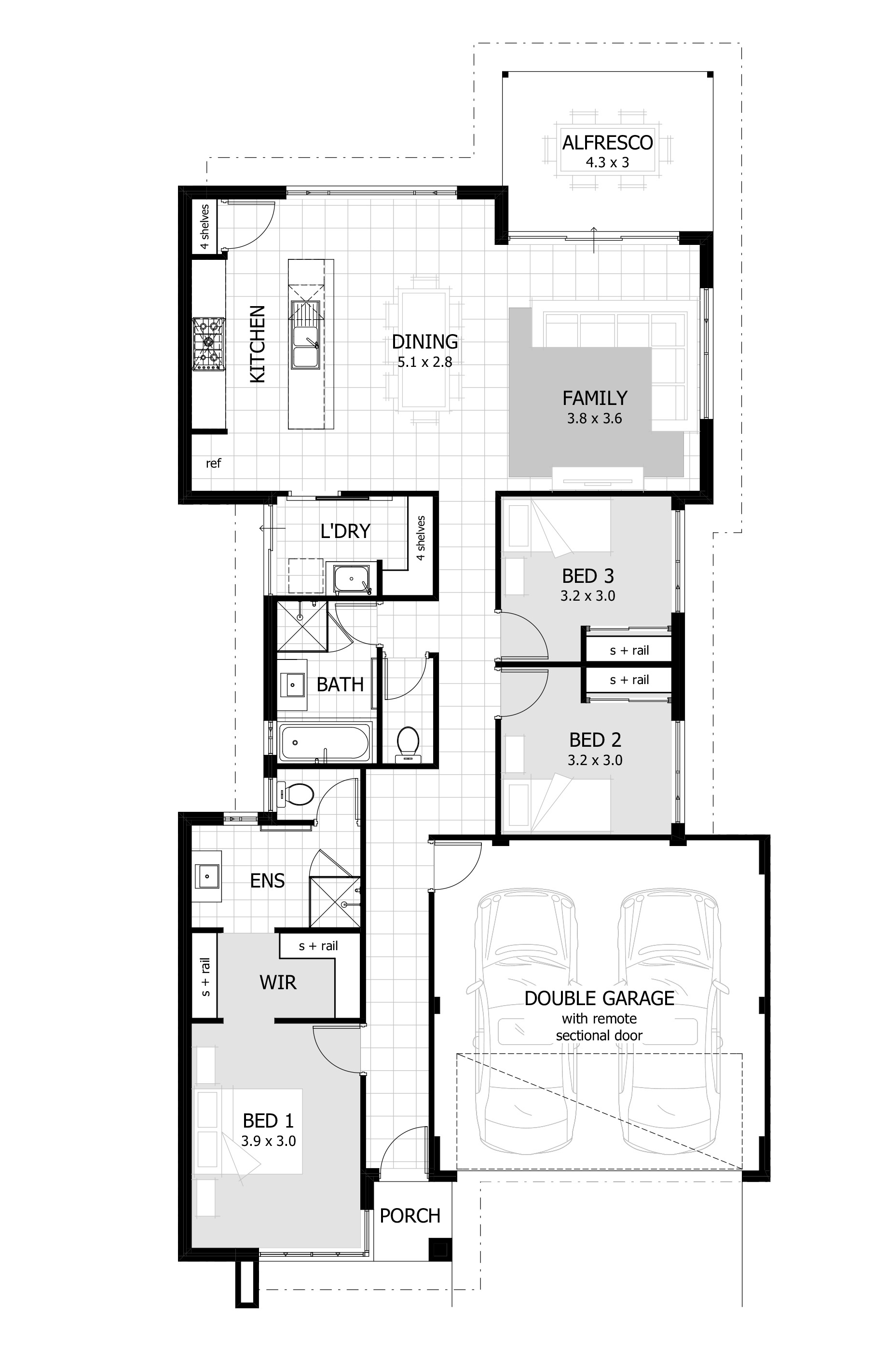 home design drawing 4