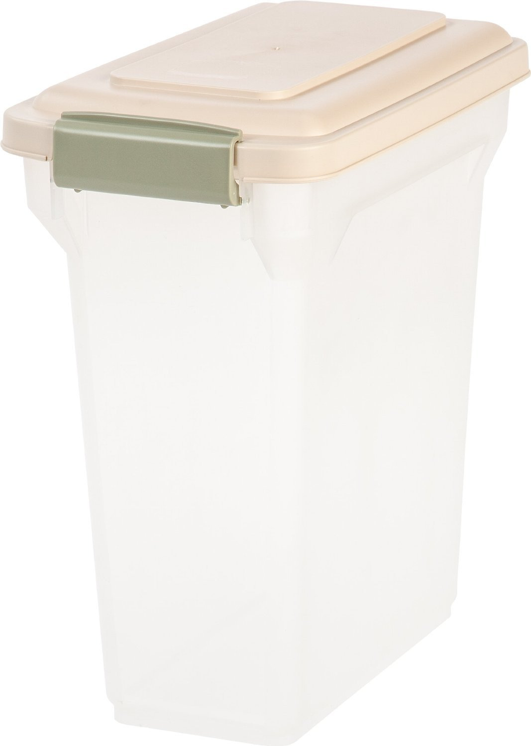 Iris 55 Qt Pet Food Container Best Of Iris Airtight Pet Food Storage Container Clear Almond 15 Qt