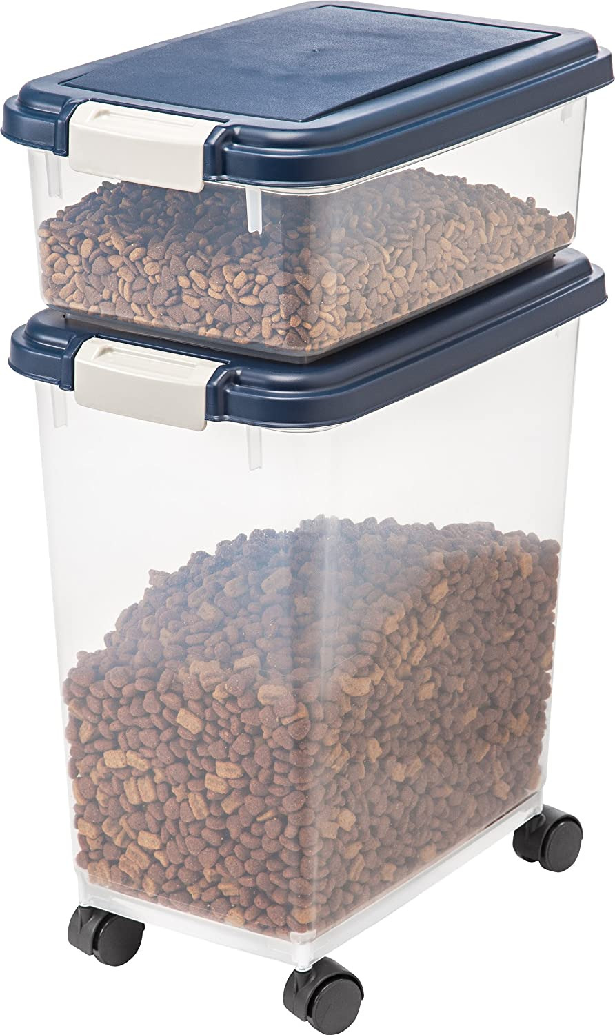 Iris 55 Qt Pet Food Container Fresh Best Dog Food Containers [april 2020 Updated
