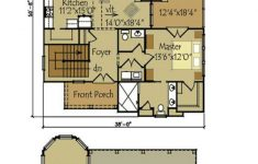 Lake House Floor Plans With Walkout Basement Unique Small Cottage Plan With Walkout Basement