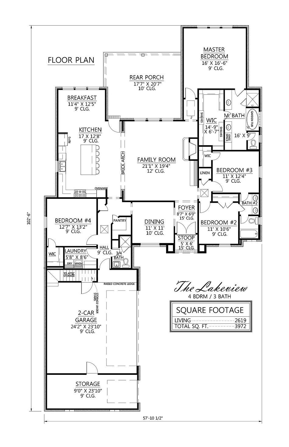Lake View House Plans Beautiful the Lakeview