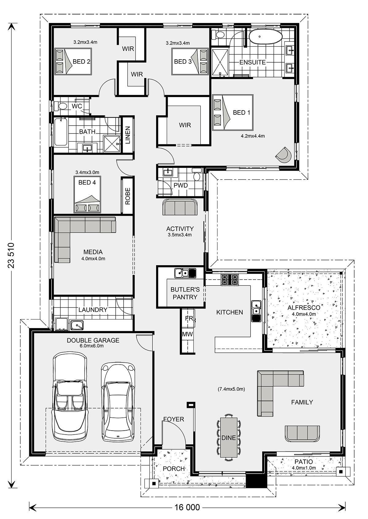Lake View House Plans Luxury Lakeview 297