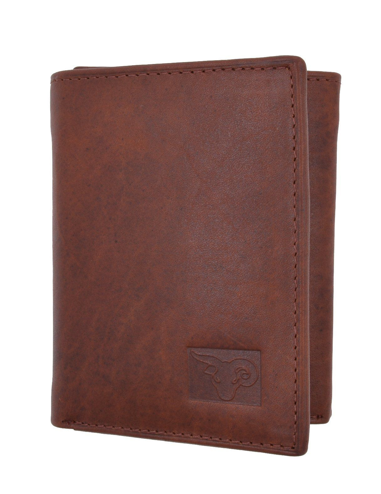 Mens Wallet with Id Window On Outside Lovely Mens High Quality Genuine Leather Card Holder Trifold Wallet