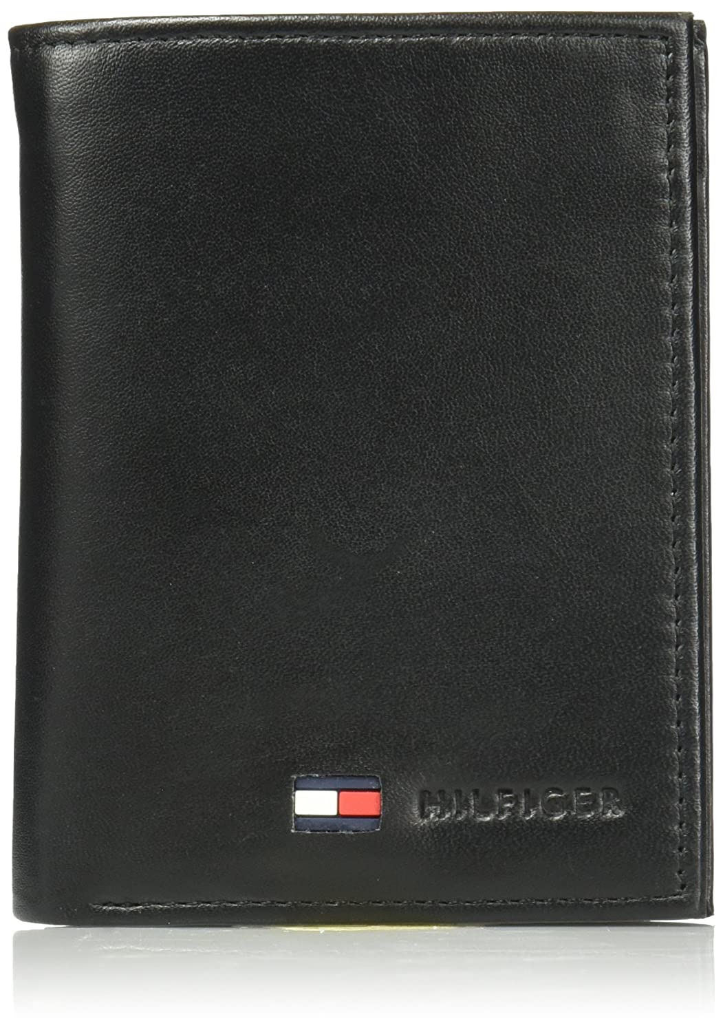 Mens Wallet with Id Window On Outside Unique tommy Hilfiger Trifold for Men Wallet with Leather Credit Card Pockets and Id Window