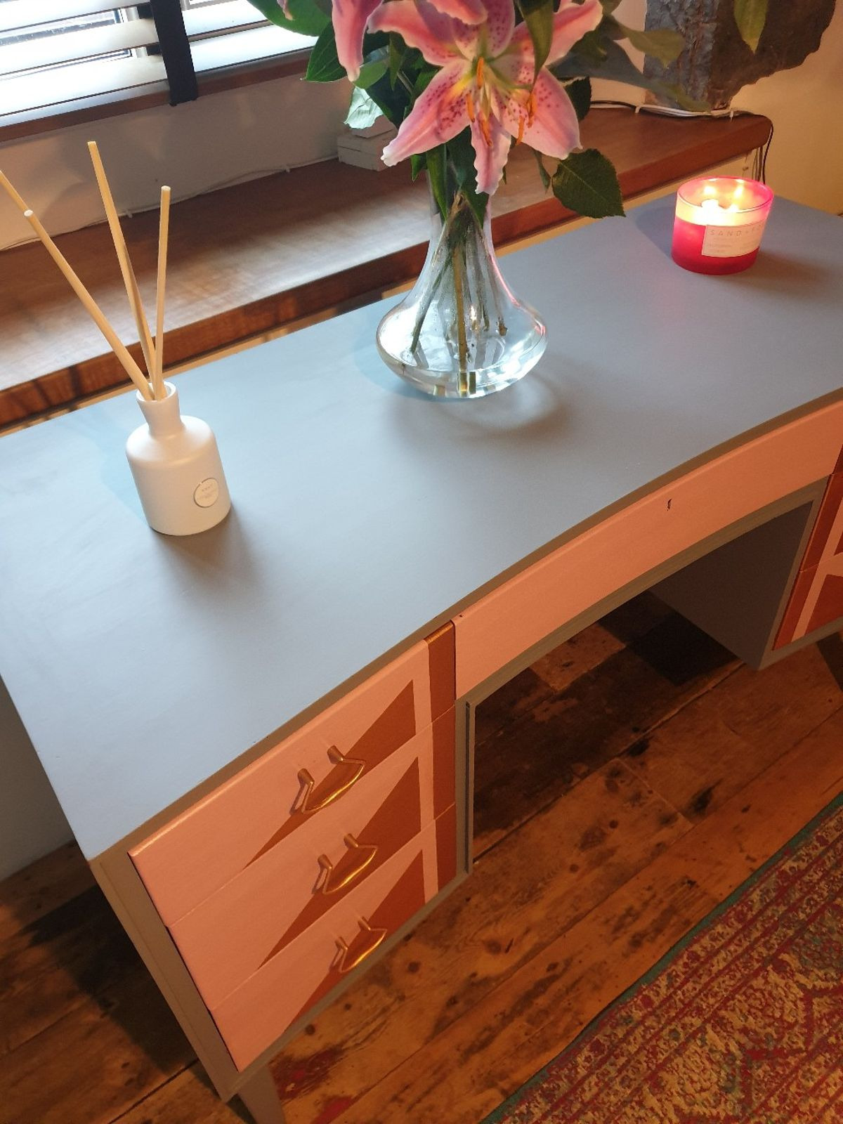 Mid Century Dressing Table Inspirational Mid Century Modern Dressing Table Upcycled In Ll33