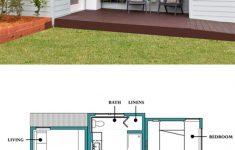 Modern 1 Bedroom House Plans Unique Modern Inlaw Cabin Floor Plan And Elevation Plan Number 507