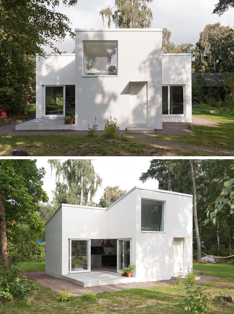 Modern Home Designs for Narrow Lots Awesome Small Modern House 422 10