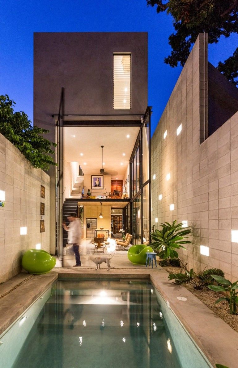 Modern Home Designs for Narrow Lots Beautiful Raw House Maximizing Vertical Space and Light On A Narrow