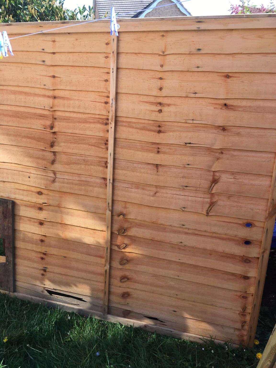 Modified Panel Fence Best Of Fencing 6ft Panels and 2 Posts