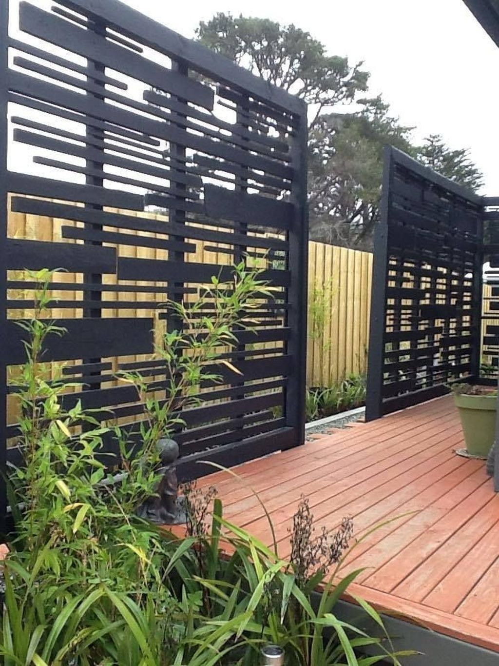 Modified Panel Fence New Best Ideas for Privacy Screen In Your Yard29
