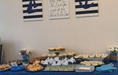 Nautical Baby Shower Decorations For A Boy Fresh Ahoy It S A Boy Nautical Baby Boy Shower Dessert Table